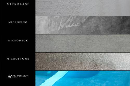 microcement-types