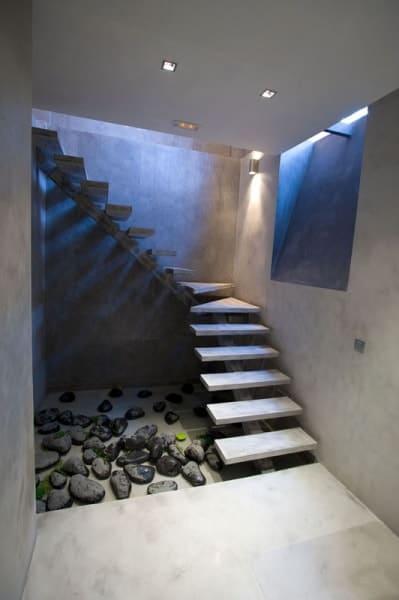 beton dekoracyjny na schody zewnętrzne